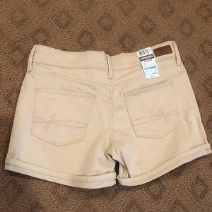 Levi's Shorts - Levi's Denizen Roll Cuff Shaping Shorts